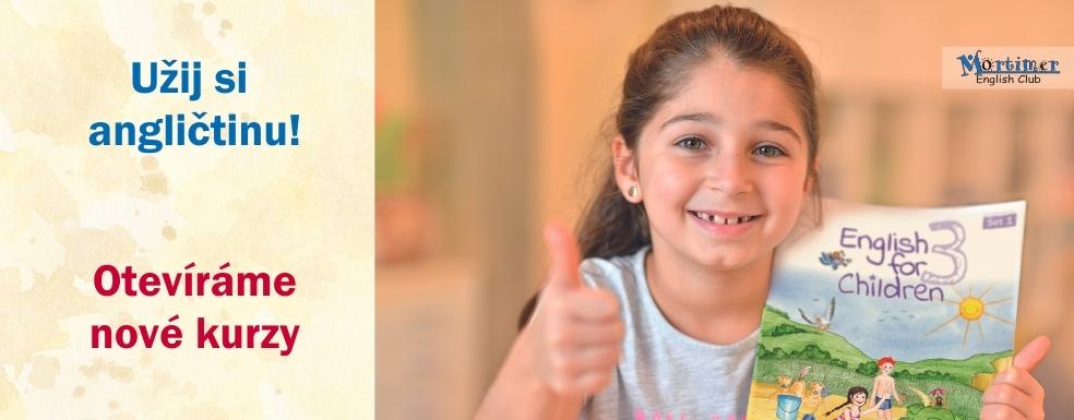 Otevíráme nové kurzy angličtiny pro děti
