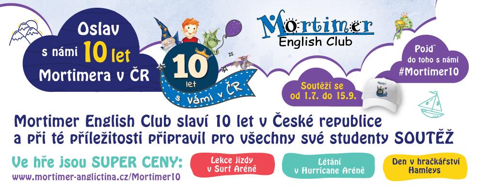 Soutěž Mortimer 10 let v ČR